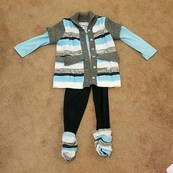 Little Lass- 3 piece outfit